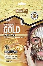 Духи, Парфюмерия, косметика Питательная маска для лица - Beauty Formulas Gold Norishing Facial Mask