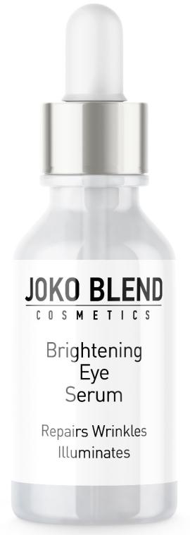 Сыворотка пептидная для кожи вокруг глаз - Joko Blend Brightening Eye Serum — фото N1