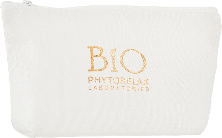 Набор - Phytorelax Laboratories Bio Detox Charcoal (f/gel/40ml + f/milk/40ml + mask/20ml + bag) — фото N3