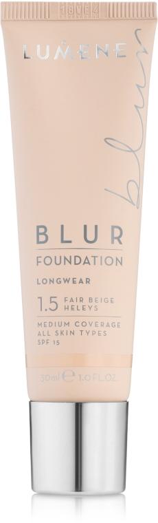 Преображающая тональная основа SPF15 - Lumene Blur Foundation