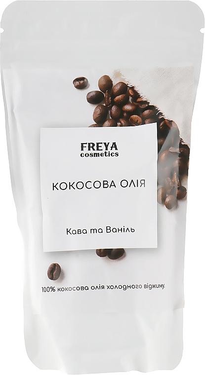 """Кокосовое масло """"Кофе и ваниль"""", дой-пак - Freya Cosmetics"""