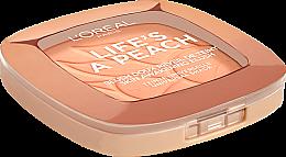Румяна для лица - L'Oreal Paris Life's a Peach Blush Powder — фото N5