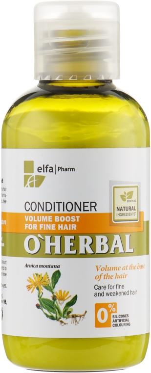 """Бальзам-кондиционер для объема тонких волос """"Объем от корней"""" - O'Herbal"""