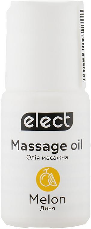 """Массажное масло """"Дыня"""" - Elect Massage Oil Melon (мини)"""
