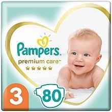 Духи, Парфюмерия, косметика Подгузники Pampers Premium Care Размер 3 (6-10 кг), 80 шт - Pampers