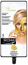 Духи, Парфюмерия, косметика Маска для лица - Iroha Nature Gold Peel Off Mask Firming