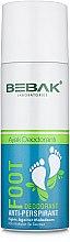 Духи, Парфюмерия, косметика Дезодорант-антиперспирант для ног - Bebak Laboratories Foot Anti-Perspirant