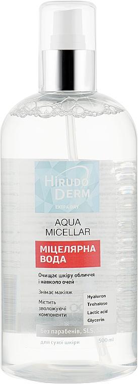 Мицеллярная вода - Hirudo Derm Extra Dry Aqua Micellar