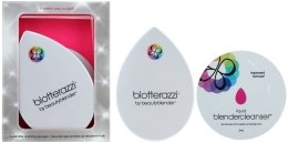 Духи, Парфюмерия, косметика Набор - Beautyblender Blotterazzi (sponge/2шт. + solution/3ml + case/1шт.)