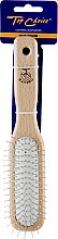 Духи, Парфюмерия, косметика Щетка для волос, 4889, со светлым деревянным корпусом - Top Choice