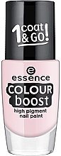 Духи, Парфюмерия, косметика Лак для ногтей - Essence Color Boost High Pigment Nail Paint