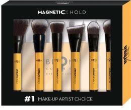 Духи, Парфюмерия, косметика Набор кистей для макияжа с магнитной доской - Bronx Colors Magnetic Urban Brushes Set (brushx8)