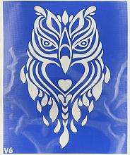 Духи, Парфюмерия, косметика Трафарет для боди-арта, 15х19см, V6 - Biofarma
