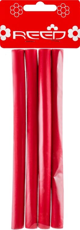 """Бигуди """"Бумеранги"""", 12 мм, красные - Reed Curlers"""