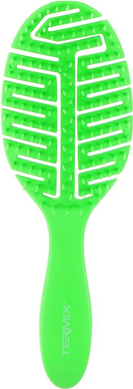 Массажная щетка для волос, зеленая - Termix Colors