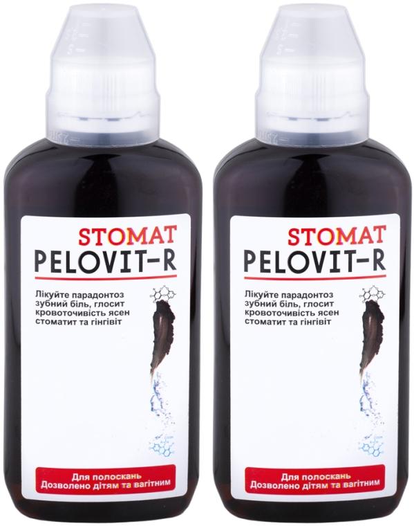 Набор - Pelovit-R Stomat (rinser/2x200ml)