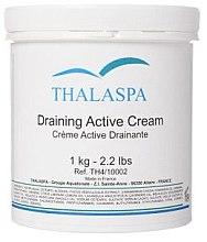 Духи, Парфюмерия, косметика Дренирующий крем - Thalaspa Draining Cream Active
