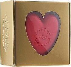 """Духи, Парфюмерия, косметика Натуральное мыло """"Сердце"""" в подарочной коробке - Essencias De Portugal Love Soap Golden Box"""