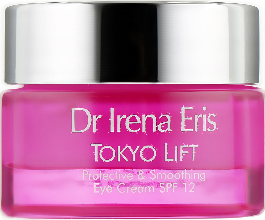 Защитный разглаживающий крем для глаз - Dr. Irena Eris Tokyo Lift Protective& Smoothing Eye Cream SPF12