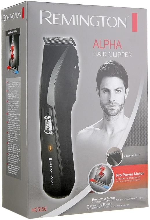 Машинка для стрижки - Remington HC5150 Cord/Cordless Hair Clipper