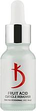 Духи, Парфюмерия, косметика Ремувер для кутикулы с фруктовыми кислотами - Kodi Professional