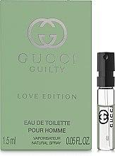 Gucci Guilty Love Edition Pour Homme - Туалетная вода (пробник) — фото N1