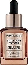 Духи, Парфюмерия, косметика Антивозрастная сыворотка для лица - Bare Escentuals Bare Minerals Brilliant Future Age Defence & Renew Serum