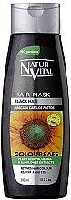 Духи, Парфюмерия, косметика Маска для сохранения цвета окрашенных волос - Natur Vital Coloursafe Henna Hair Mask Black Hair