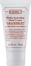 "Духи, Парфюмерия, косметика Крем для рук ""Грейпфрут"" - Kiehl`s Richly Hydrating Hand Cream Grapefruit"