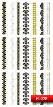 Духи, Парфюмерия, косметика Наклейки для дизайна ногтей - Kodi Professional Nail Art Stickers FL028