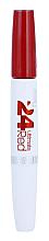 Духи, Парфюмерия, косметика Стойкая жидкая губная помада - Maybelline Super Stay 24hr Ultimate Red Lip