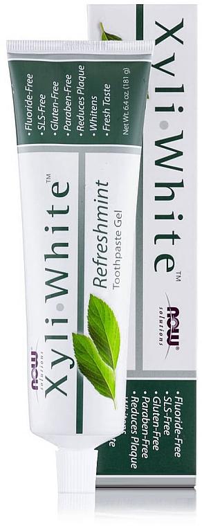 """Зубная паста-гель """"Освежающая мята"""" - Now Foods XyliWhite Refreshmint Toothpaste Gel"""