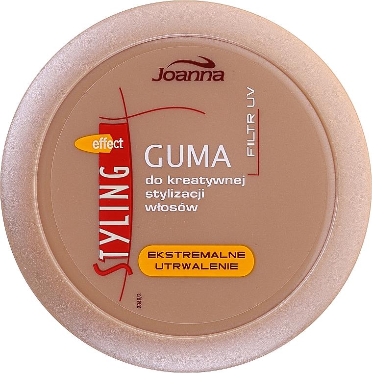 Резина для стайлинга волос - Joanna Styling Effect Creative Hair Styling Gum Extreme Fixation