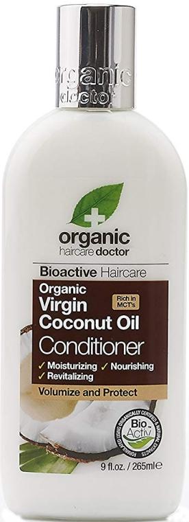 Кондиционер для волос с кокосовым маслом - Dr. Organic Virgin Coconut Oil Conditioner