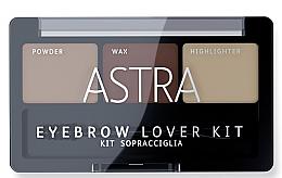 Духи, Парфюмерия, косметика Набор теней для бровей - Astra Make-up Eyebrow Lover Kit