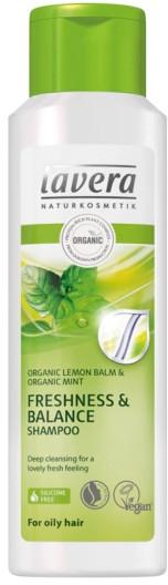 Шампунь для волос - Lavera Freshness & Balance Shampoo