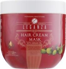 Духи, Парфюмерия, косметика Крем-маска для волос с аргановым маслом - Leganza Cream Hair Mask With Argan Oil (без дозатора)