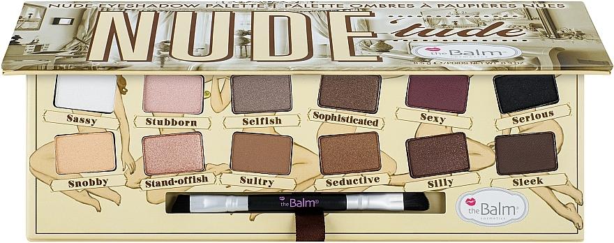 Палетка теней - theBalm Nude Tude Naughty Palette