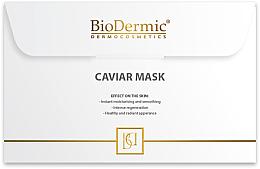 Духи, Парфюмерия, косметика Маска для лица с экстрактом икры - BioDermic Caviar Extract Mask