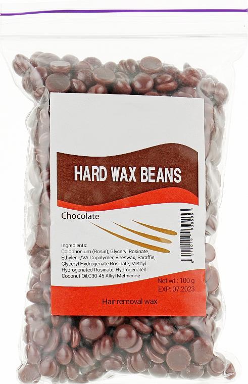 """Пленочный воск в гранулах """"Шоколад"""" - Hard Wax Beans"""