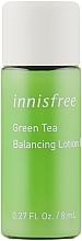 Духи, Парфюмерия, косметика Балансирующий лосьон для лица с экстрактом зеленого чая - Innisfree Green Tea Balancing Lotion EX (мини)