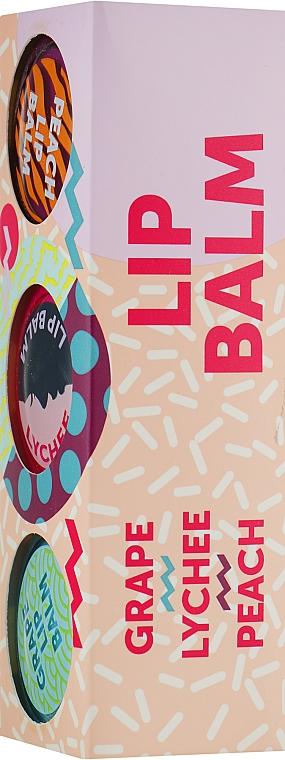 Набор - Mades Cosmetics Signature Lip Balm (lip/balm/15ml + lip/balm/15ml + lip/balm/15ml)