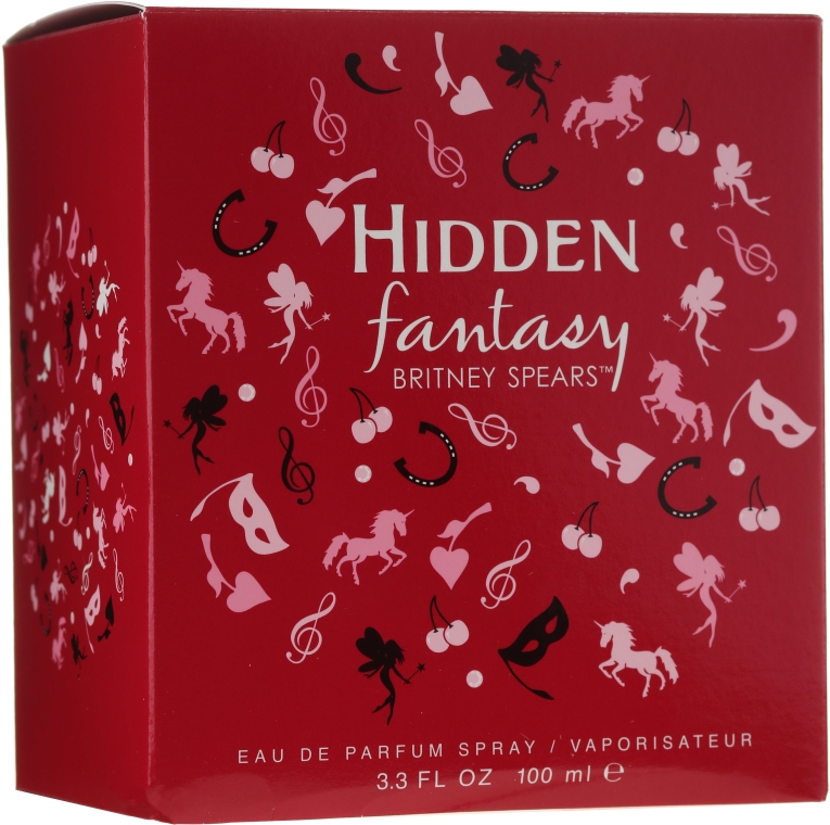 Britney Spears Hidden Fantasy - Парфюмированная вода