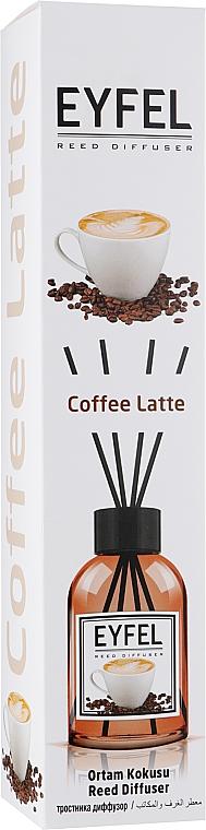 "Аромадиффузор ""Кофе латте"" - Eyfel Perfume Reed Diffuser Coffee"