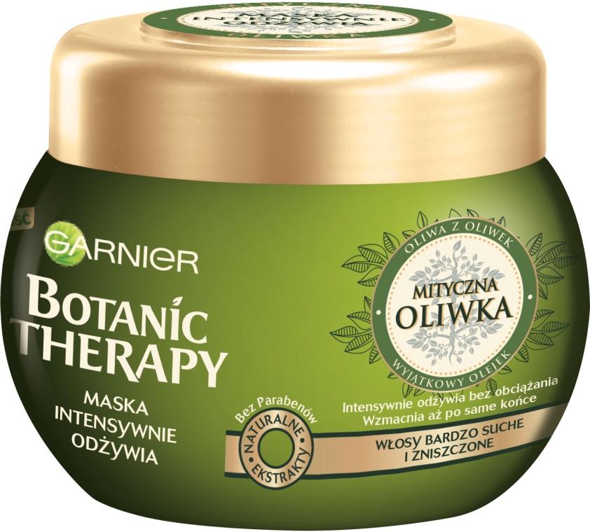 """Маска для сухих, поврежденных волос """"Легендарная олива"""" - Garnier Botanic Therapy"""