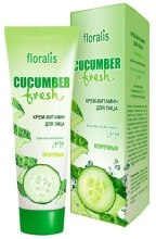 Духи, Парфюмерия, косметика Крем-витамин для лица - Floralis Cucumber Fresh Face Cream