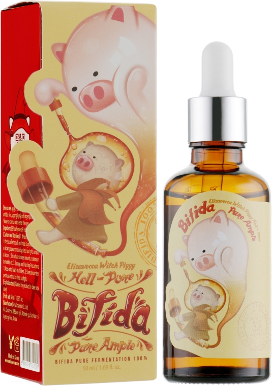 Восстанавливающая сыворотка для лица - Elizavecca Witch Piggy Hell-Pore Bifida Pure Ample
