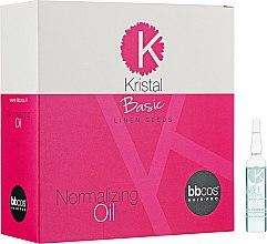 Духи, Парфюмерия, косметика Масло для поврежденных волос - BBcos Kristal Basic Normalizing Oil