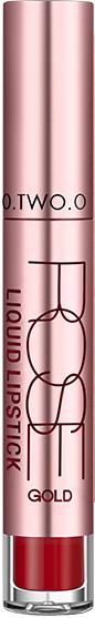 Жидкая матовая помада для губ - O.TWO.O Rose Gold Liquid Lipstick