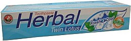 Духи, Парфюмерия, косметика Травяная зубная паста - Twin Lotus Fresh & Cool